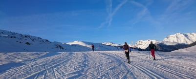 ..Plan de Beret...paraíso del Esquí de fondo..a 1.800 m de altitud...